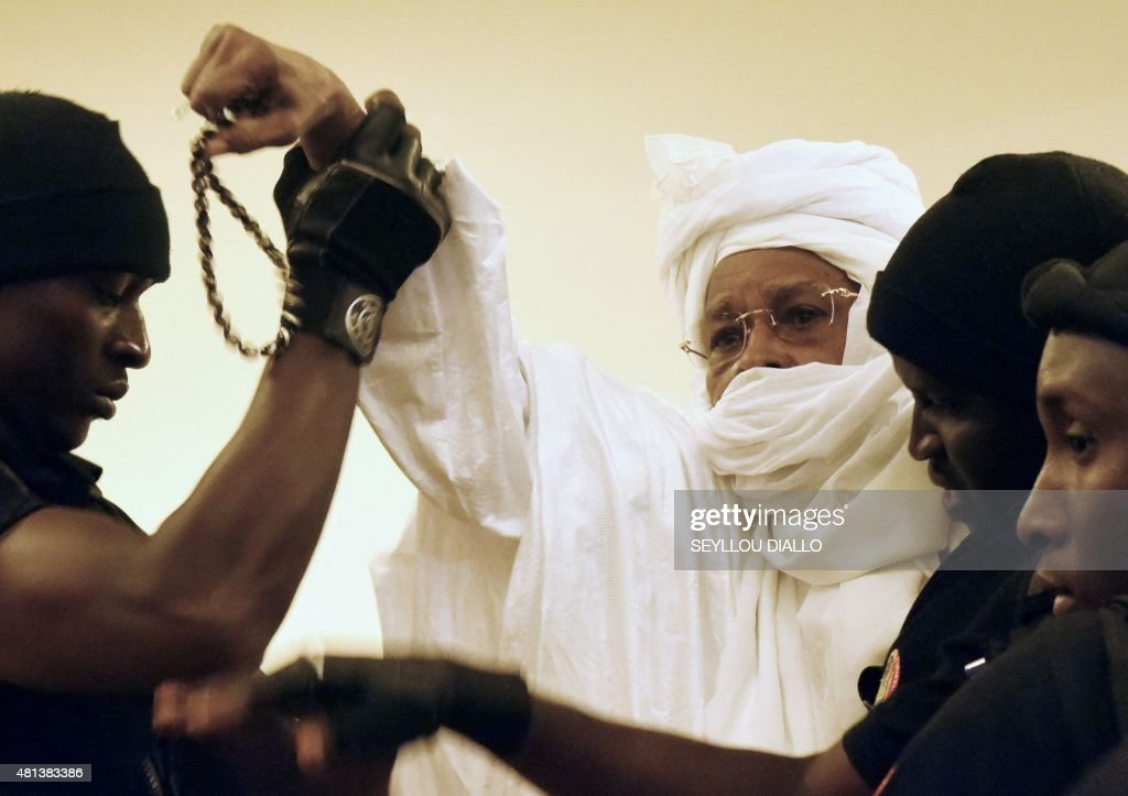 SENEGAL-CHAD-HABRE-TRIAL : News Photo