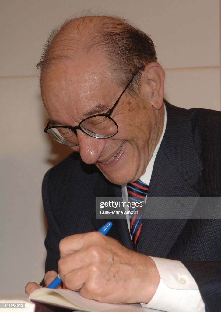 "Alan Greenspan Book Signing for ""Age of Turbelence"" at Barnes and Noble,"