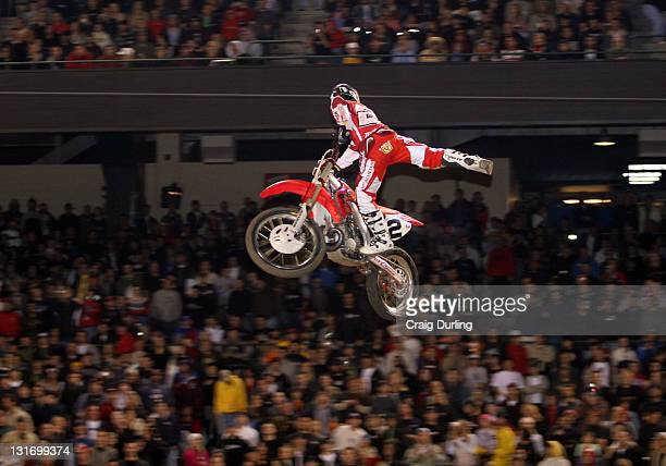 Former Champion and Supercross legend Jeremy McGrath had a disappointing finish in the Main Event but still managed to put on a great show for the...