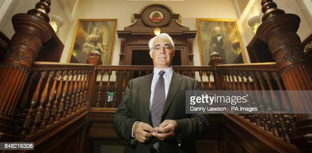 Former chancellor Alistair Darling during the launch of The Scotland Institute at Trades House in Glasgow Scotland PRESS ASSOCIATION Photo Picture...