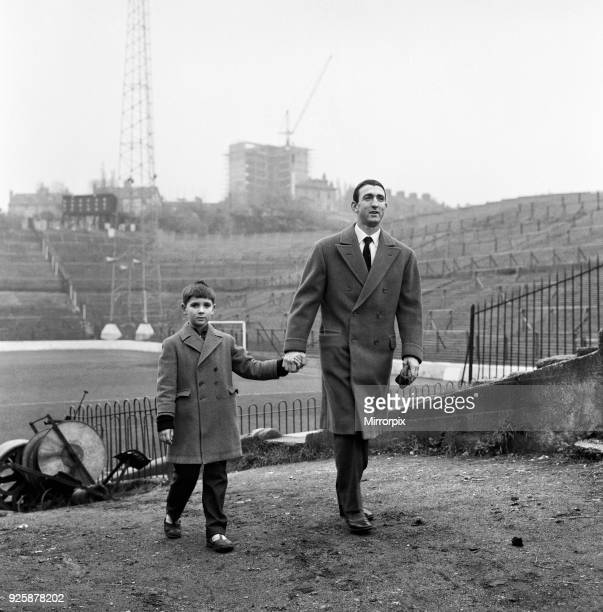 Former Charlton Athletic player Eddie Firmani who left England in 1955 to join Italian team Sampdoria is pictured on his return to England for a few...