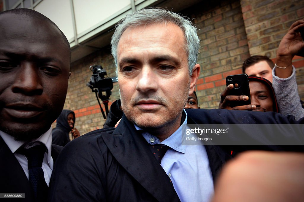 Jose Mourinho Reaches A Settlement With Eva Carneiro At Employment Tribunal : News Photo