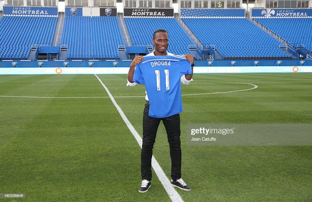 Didier Drogba Joins Montreal Impact : News Photo