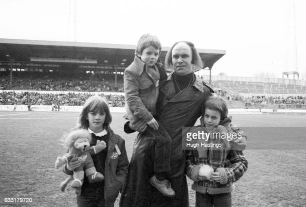Former Chelsea player John Dempsey before the Football League Division Two match between Chelsea and Cambridge United at Stamford Bridge London on...