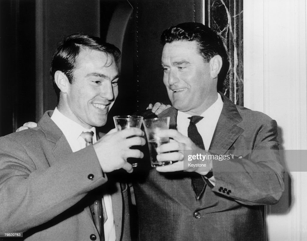 Greaves And Rocco : News Photo