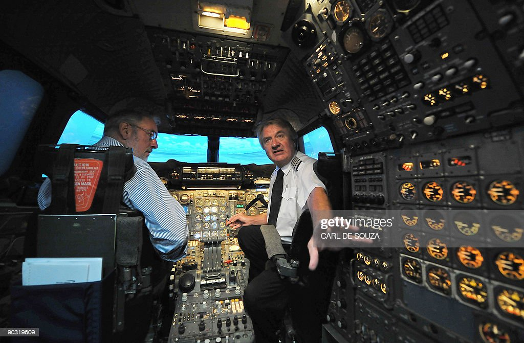 Former Chief Concorde pilot Mike Bannist : News Photo