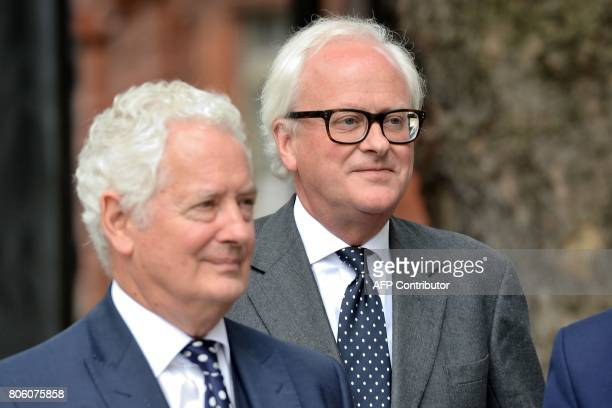 Former Chief Executive of Barclays John Varley arrives at Westminster Magistrates Court in central London on July 3 2017 Barclays bank and four...