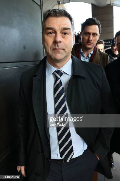 Former chief executive Richard Howson leaves after appearing in front of a joint hearing of the Commons Business Energy and Industrial Strategy...