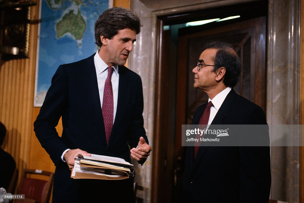 Masihur Rahman and Senator John Kerry Pictures | Getty Images