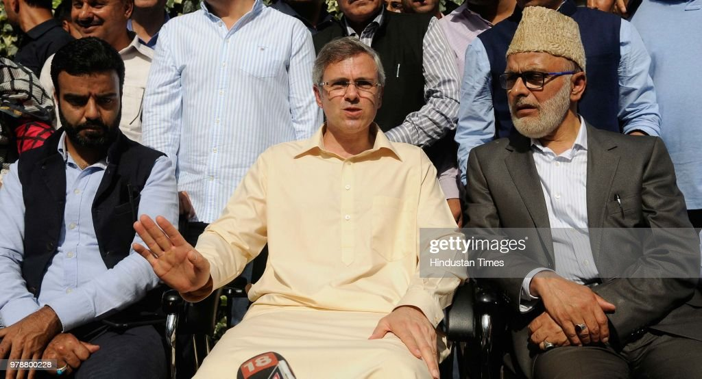 Press Conference Of National Conference Chief Omar Abdullah After BJP Pulled Support From PDP Government