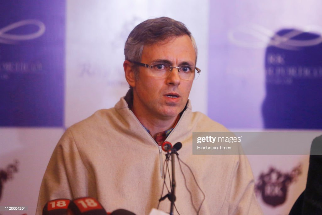IND: Press Conference Of Former Jammu And Kashmir Chief Ministers Omar Abdullah