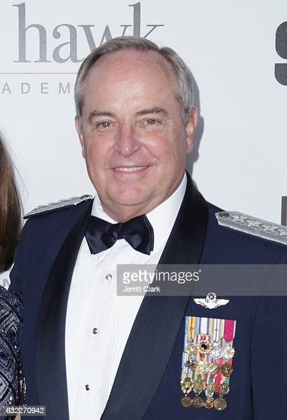 Former Chief of Staff of the United States Airforce Mark Anthony Welsh III attends the 14th Annual Living Legends Of Aviation Awards at The Beverly...