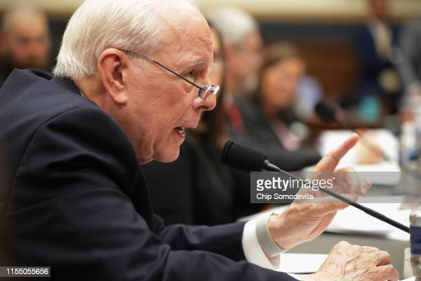 Former Chief White House Counsel John Dean testifies about the Mueller Report before the House Judiciary Committee in the Rayburn House Office...