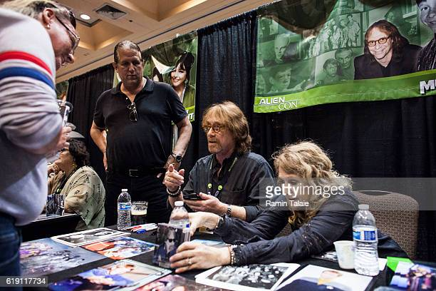 Former child actor Bill Mumy signs autographs at Alien Con 2016 on October 28 2016 in Santa Clara California