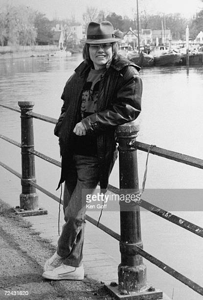 Former child actor Jack Wild who won an Oscar for his portrayal of Artful Dodger in the film 'Oliver' near river Thames in Twickenham