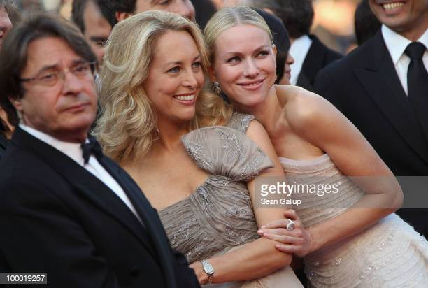Former CIA agent Valerie Plame and actress Naomi Watts attend the Fair Game Premiere at the Palais des Festivals during the 63rd Annual Cannes Film...