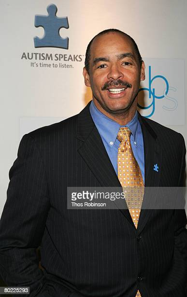 Former Cleveland Brown Kellen Winslow attends the NFL Legends and Autism Speaks Kickoff for a Cure Benefit at the WaldorfAstoria on March 12 2008 in...
