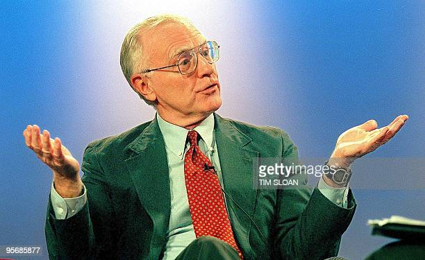 Former CNN senior producer Jack Smith appears on a webcast and inhouse program called Inside Media 08 July at the Newseum in Rosslyn VA near...