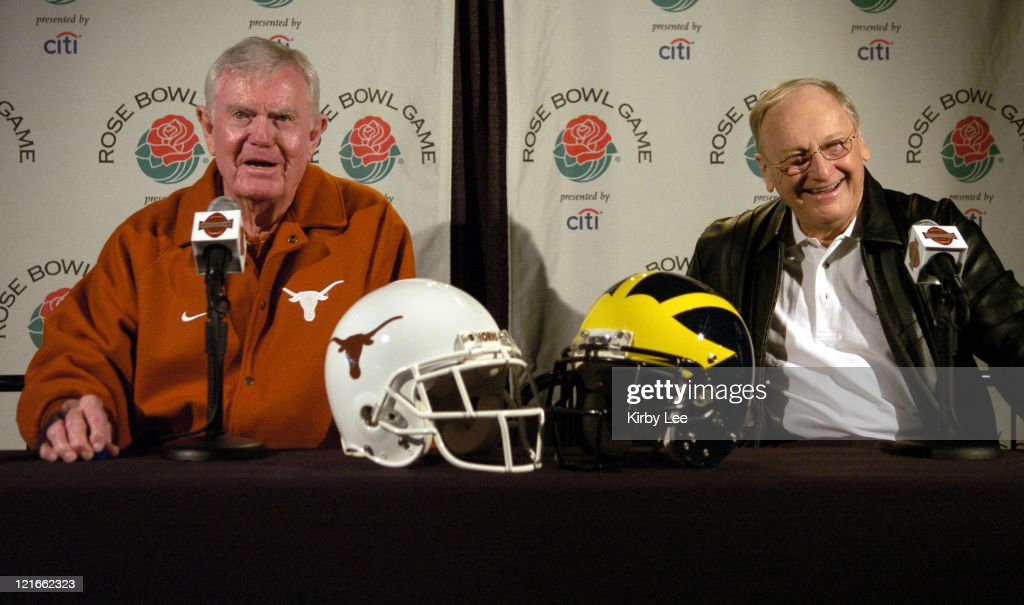 2005 Rose Bowl - Media Day - December 30, 2005