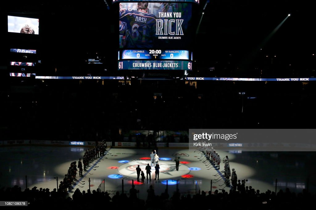 New York Rangers v Columbus Blue Jackets : News Photo