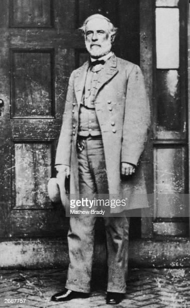Former Confederate General Robert E Lee