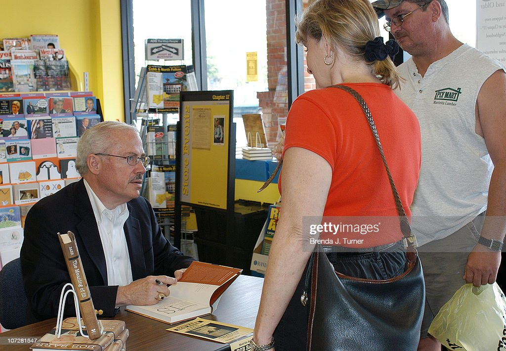 "Former Congressman Bob Barr Signs Copies of his Book ""The Meaning Of Is"" -"