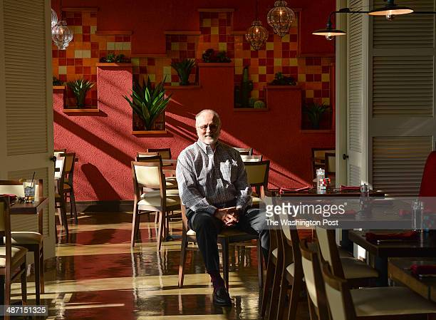 Former congressman David Bonior is photographed at his new restaurant called Agua 301 on April 21 2014 in Washington DC