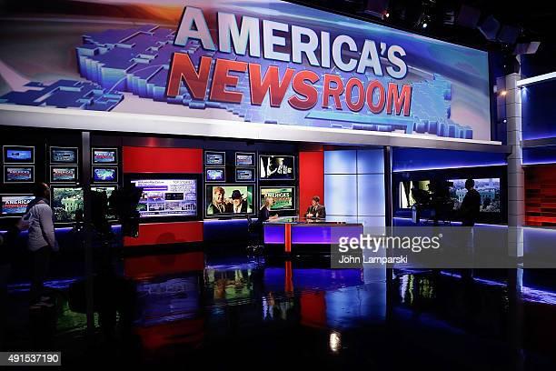 Former Congressman of Rhode Island Patrick J Kennedy visits FOX News' 'America's Newsroom' at FOX Studios on October 6 2015 in New York City