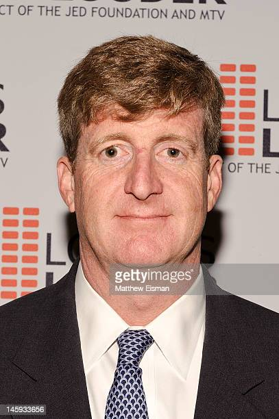 Former Congressman Patrick Kennedy attends the 11th Annual Jed Foundation Gala at Gotham Hall on June 7 2012 in New York City
