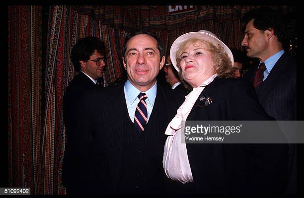 Former Congresswoman Bella Abzug Stands With New York Governor Mario Cuomo In New York City Abzug Was Known As The 'Passionate Perfectionist' She Won...