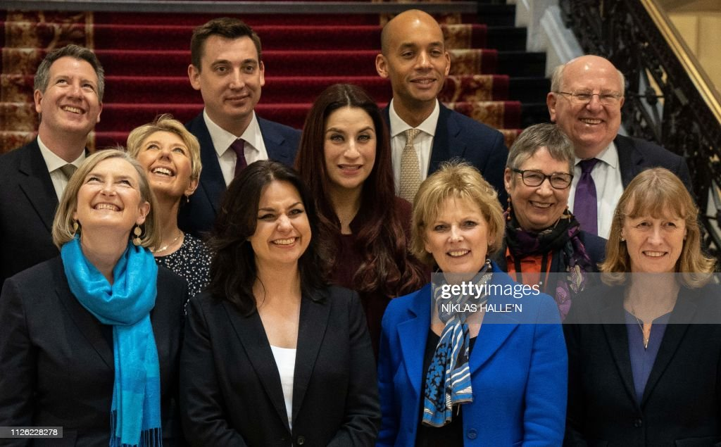 BRITAIN-POLITICS-EU-BREXIT-CONSERVATIVES : News Photo