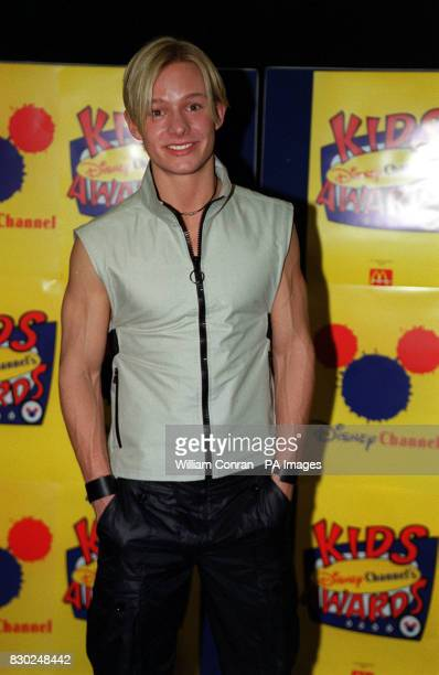 Former Coronation Street actor Adam Rickitt at the Disney Channel Kids Awards held at the London Arena