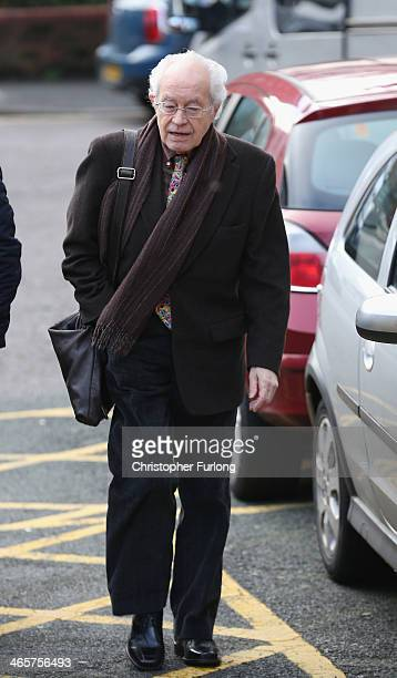 Former Coronation Street actor Alan Rothwell arrives at Preston Crown Court ahead of giving evidence in the trial of William Roache on January 29...