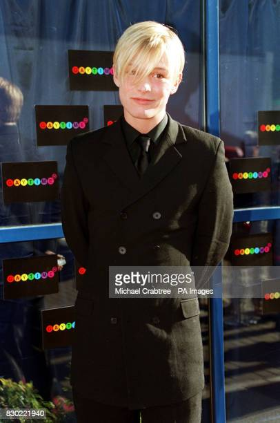 Former Coronation Street actor and singer Adam Rickitt arrives at the BBC TV studios for the Gaytime TV Awards nominations the first ever televised...