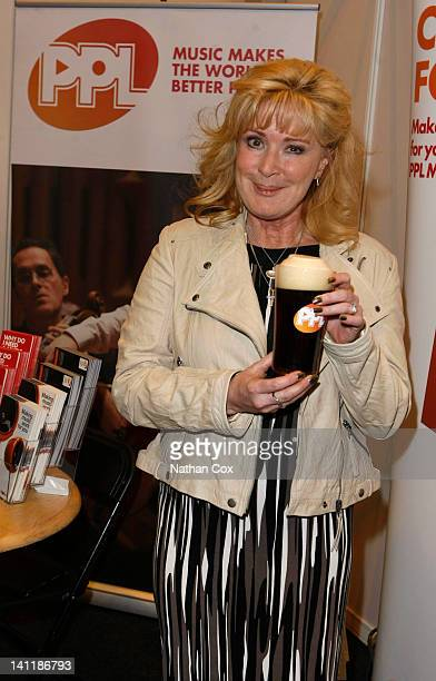 Former Coronation Street landlady Beverley Callard joins music licensing company PPL at the Northern Restaurant and Bar Show at Manchester Central on...