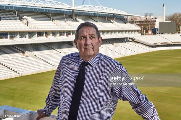 Former county and international cricketer Graham Gooch is photographed for the MCC Magazine on February 14 2019 in London England