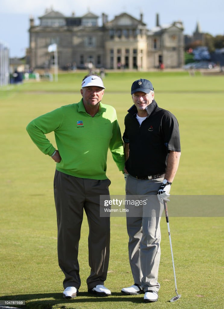 Practice Round - The Alfred Dunhill Links Championships
