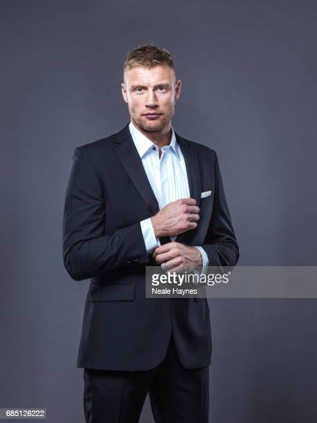Former cricketer Andrew Flintoff is photographed on November 2 2016 in London England