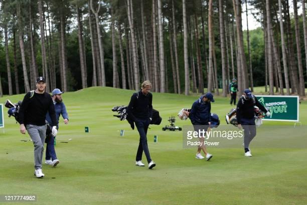 Former cricketer Freddie Flintoff, professional golfer Andrew Johnston, former footballers Peter Crouch and Jamie Redknapp and professional golfer...