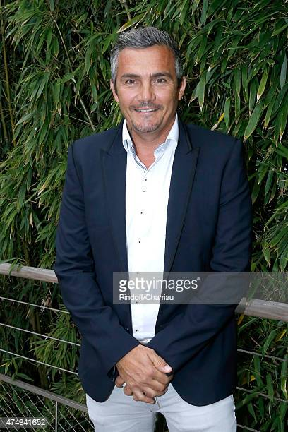 Former Cyclist Richard Virenque attends the 2015 Roland Garros French Tennis Open Day Five on May 28 2015 in Paris France