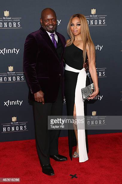 Former Dallas Cowboys running back Emmitt Smith attends the 2015 NFL Honors at Phoenix Convention Center on January 31 2015 in Phoenix ArizonaÊ