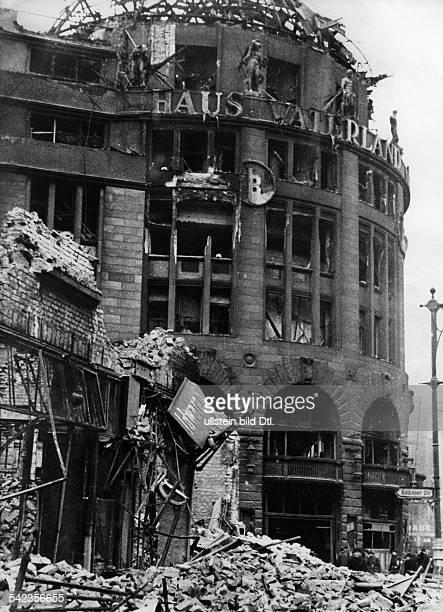 Former dance hall Haus Vaterland Berlin the ruins of the building on Potsdamer Platz