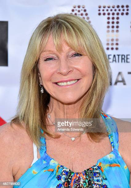 Former dancer Bonnie Lythgoe arrives at the Australian Theatre Company fundraiser hosted by the Australian ConsulGeneral on August 2 2015 in Los...
