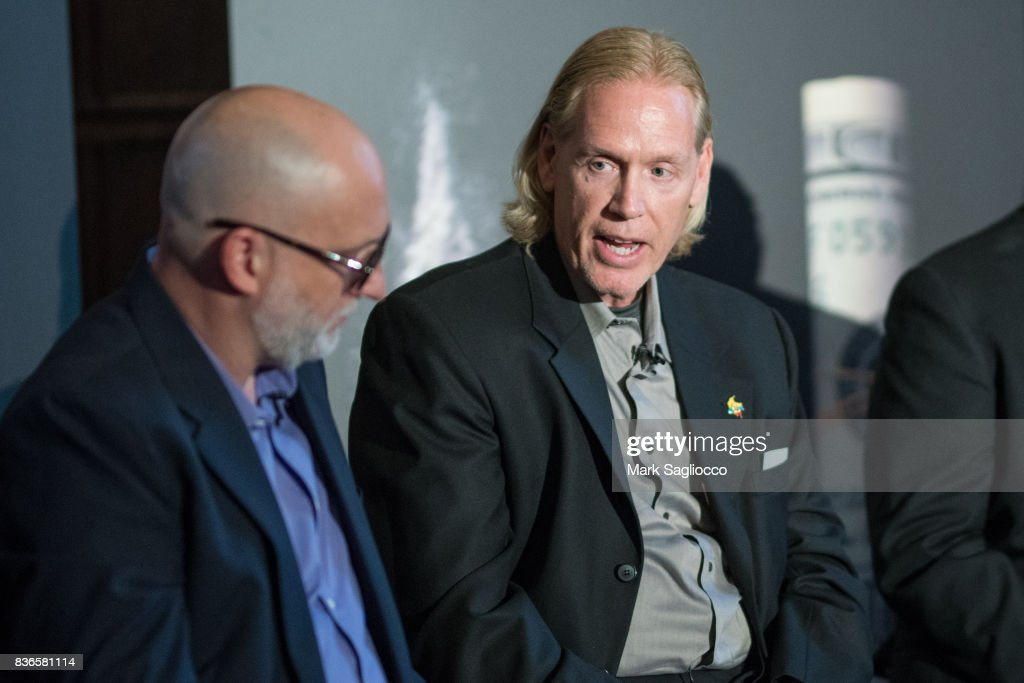 Former DEA Agent Chris Fiestl attends 'Narcos' Season 3 New York Screening Panel Discussion at The Explorer's Club on August 21, 2017 in New York City.
