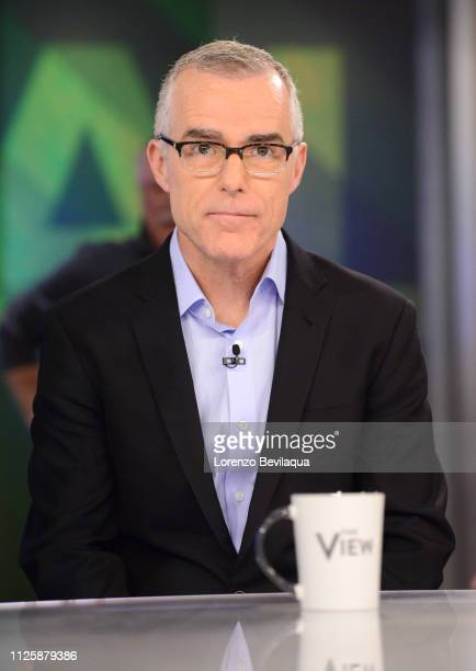 THE VIEW Former Deputy FBI Director Andrew McCabe is a guest on ABC's 'The View' Tuesday February 19 2019 'The View' airs MondayFriday on the ABC...