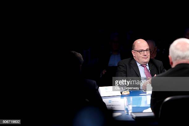 Former Deputy Finance Minister of Germany, Steffan Kampeter attends the 'EU Wargames' event at The Porter Tun on January 25, 2016 in London, England....