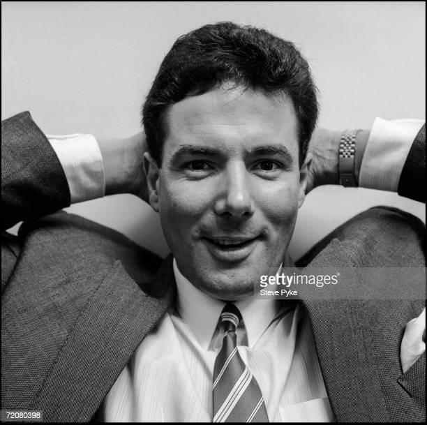 Former deputy leader of Liverpool City Council Derek Hatton the year after his expulsion from the Labour Party over his membership of the Militant...