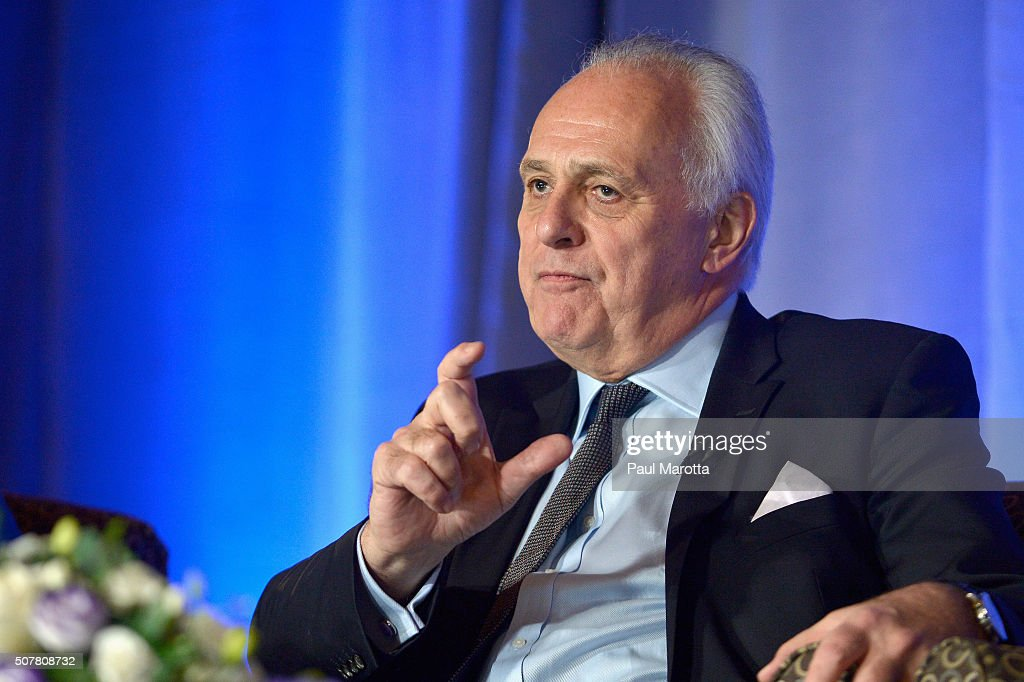 Former Deputy Secretary General and UNDP Administrator Mark Malloch-Brown speaks at the Albright Institute Presents 'A Public Dialogue: Addressing Global Inequality' at Wellesley College on January 31, 2016 in Wellesley, Massachusetts.