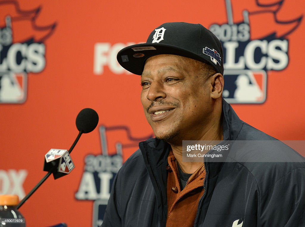ALCS - Boston Red Sox v Detroit Tigers - Game Four : News Photo