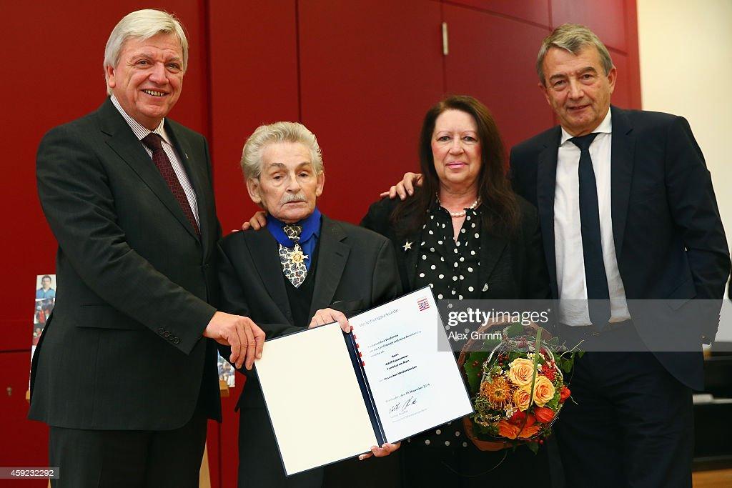 DFB Physiotherapist Adolf Katzenmeier 80th Birthday Celebration